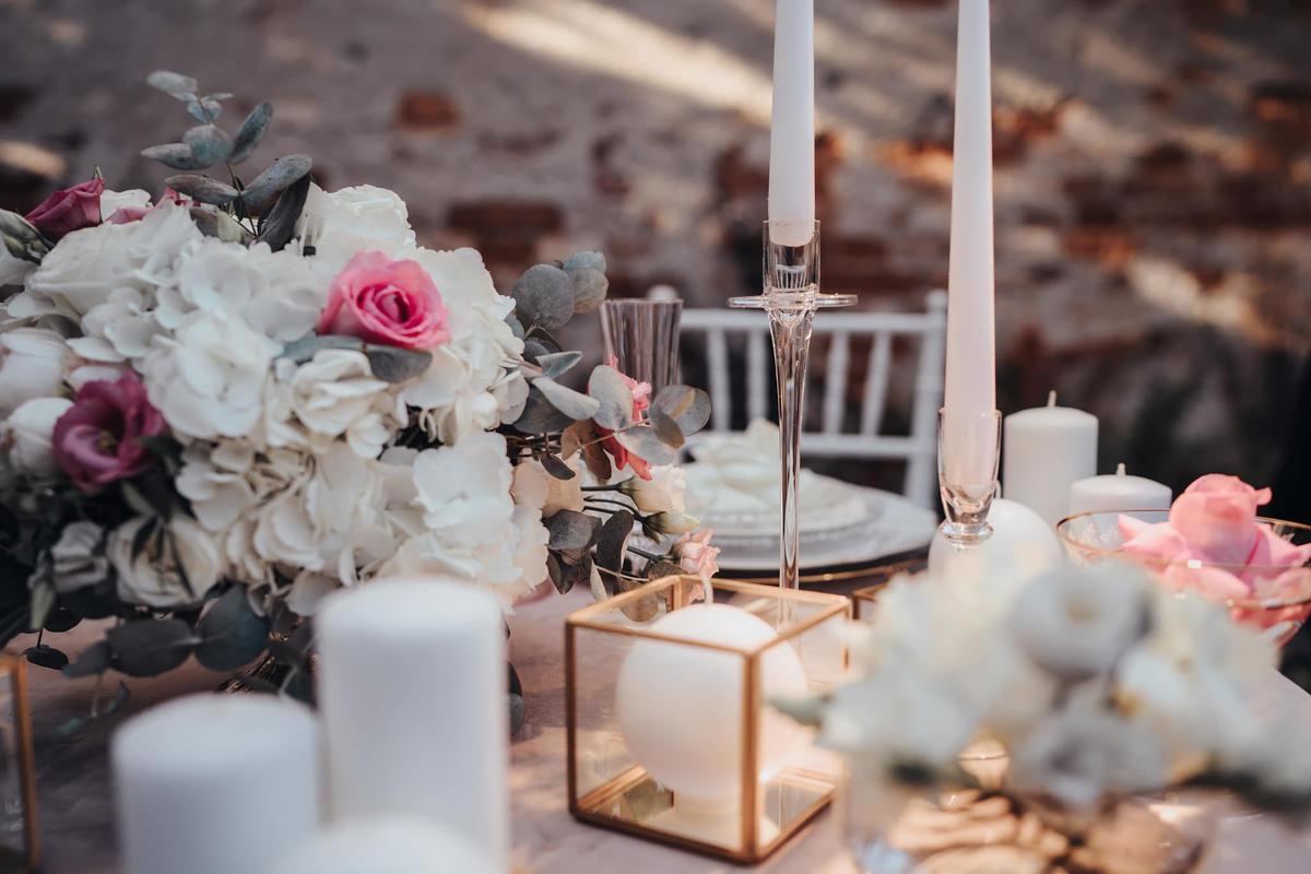 Decor nunta masa mirilor