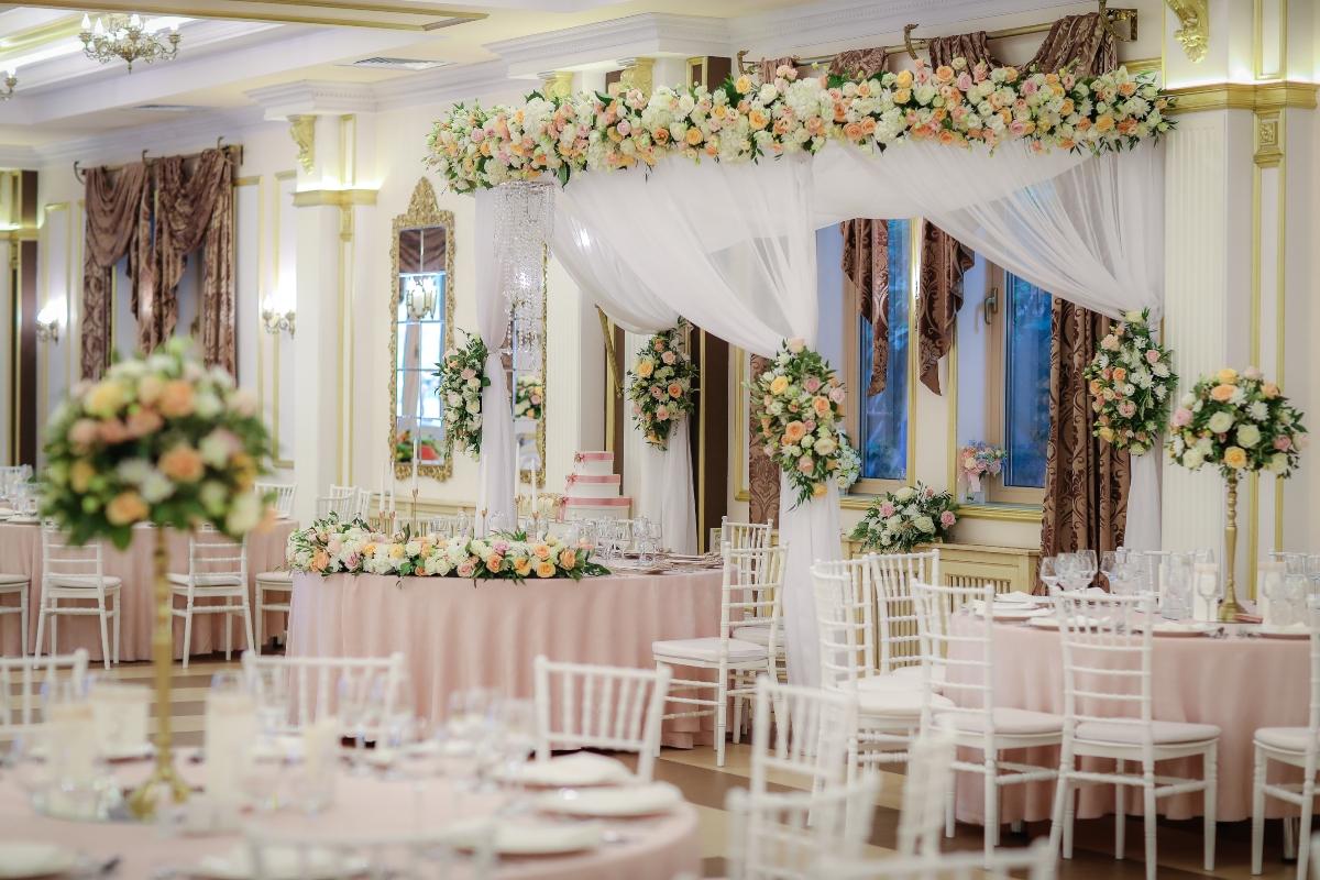 Decor nunta Bora Bora Saloon Galati