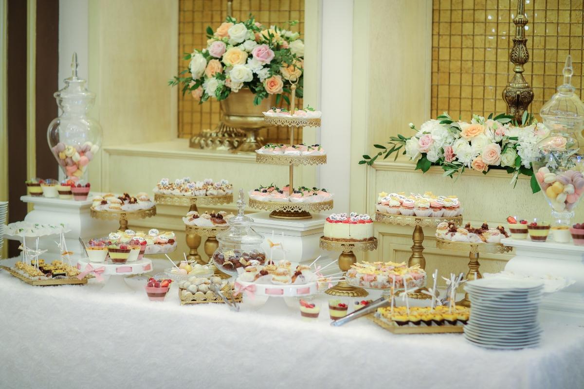 Decor nunta Candy Bar Bora Bora Galati