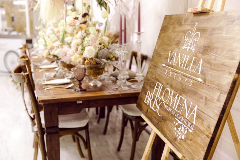 Decor rustic nunta Grand Hotel Italia