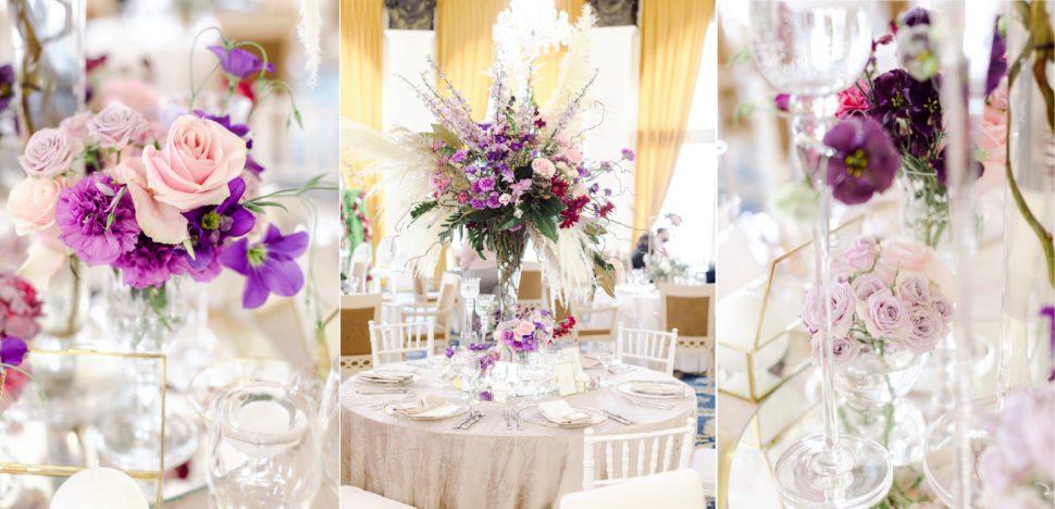Aranjamente florale nunta Grand Hotel Italia