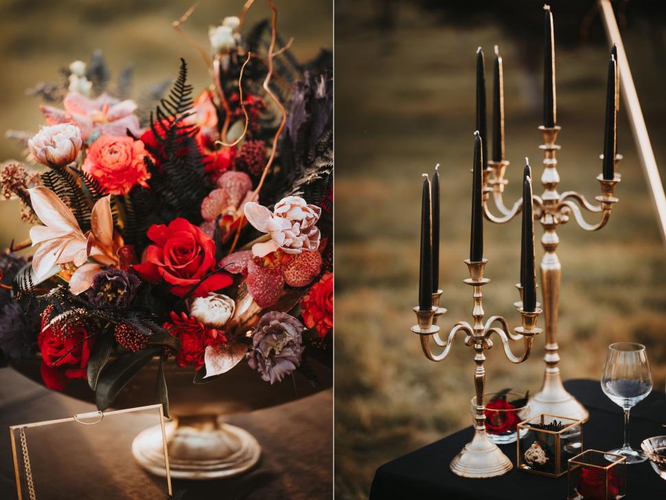 Nunta Archia - decor si aranjamente florale