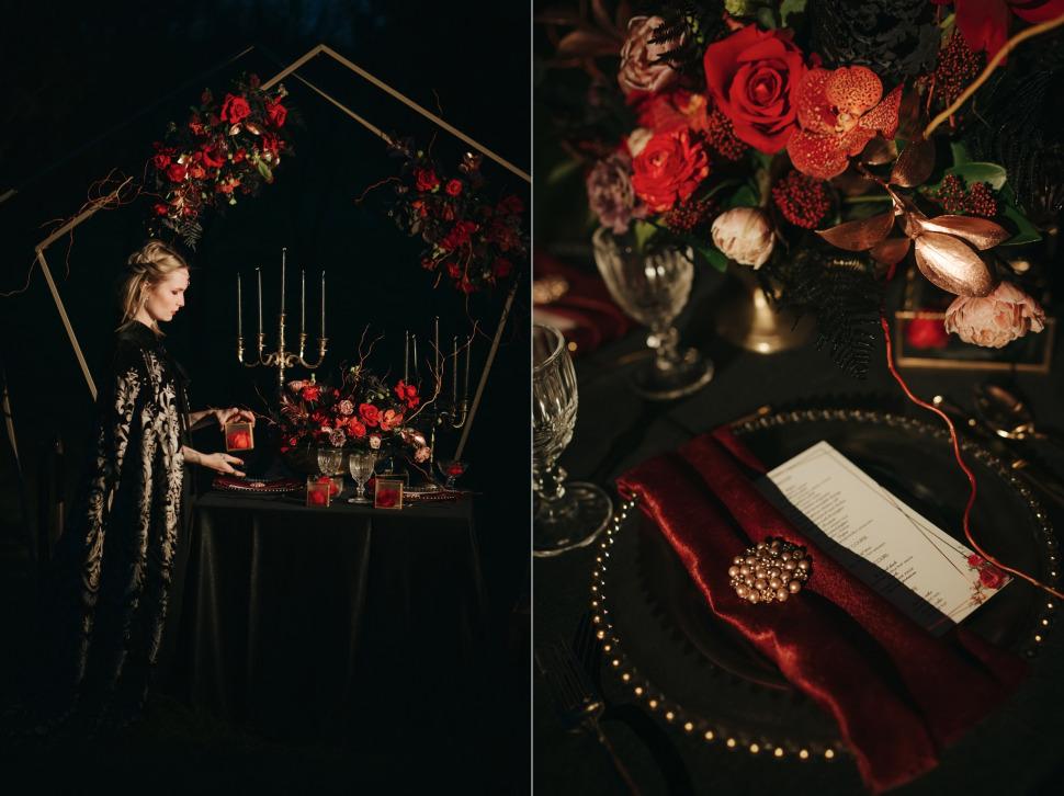 Nunta Archia - decor nunta si aranjamente florale