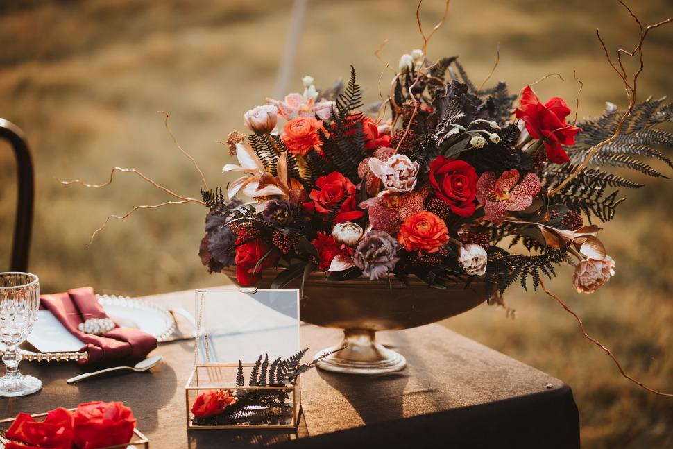 Nunta Archia - Decor si aranjamente florate